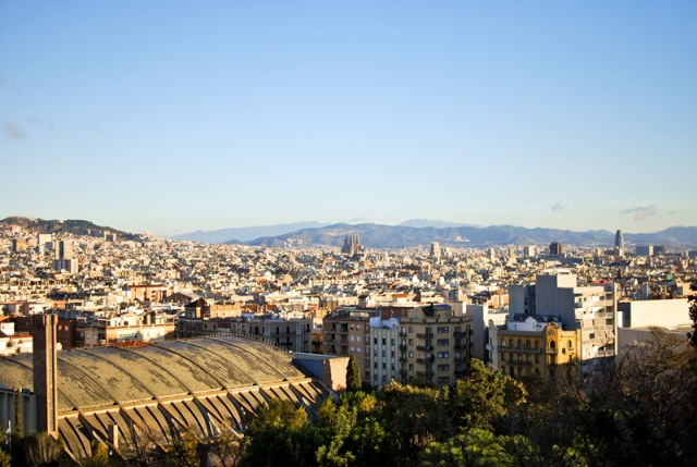 Barcelona - a view